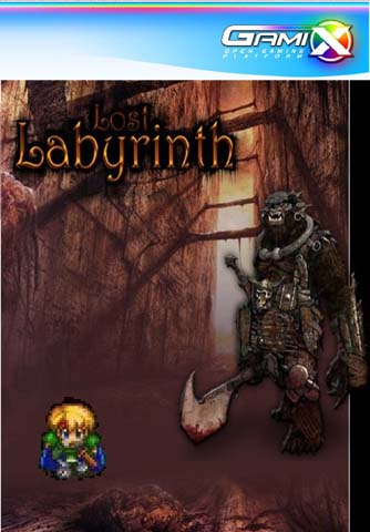 Product picture Gamix Lost Labyrinth (PAL) ISO